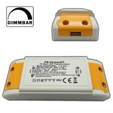 LED Trafo 0-70 Watt 12V~ AC Wechselspannung Elektronisch Netzteil Transformator
