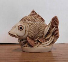 "Harmony Kingdom ""Midas Touch"" Treasure Jest Trinket Box Gold Fish Carp Goby"