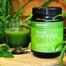 Melrose Organic Essential Greens 200g Instant Powder Exp 2024 Made in Australia