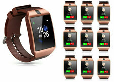 10PC Wholesale G12 GOLD Band Bluetooth Touchscreen Smart Watch