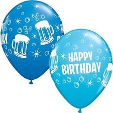 Palloncini blu ovale per feste e party