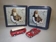 "BUB  MB/8 Limousine & VW T2 ""Friedensdorf International Kindern Helfen"" 1:87 OVP"