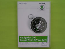 DVD NAVIGATION CY EUROPA WEST 2014 V11 SKODA SUPERB OCTAVIA 1Z YETI VW RNS 510