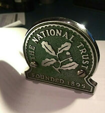 vintage National Trust Car Badge + fixings