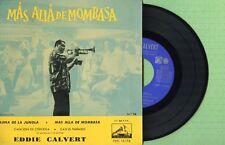 EDDIE CALVERT / Mas alla De Mombasa VOZ DE SU AMO 7EPL13176 Pre Spain 1958 EP EX
