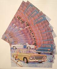 New listing 1964 Original lot of 10 Studebaker Advertising Postcards Lark Challenger