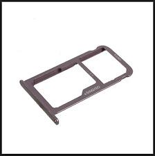 carrello Vassoio alloggio Micro Sd +porta scheda nano Sim x HUAWEI P9 LITE  NERO