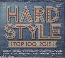 Hardstyle - Top 100 2015 - Rebourne, Dr. Rude, Isaac, u.a. (2 CDs, NEU! OVP)