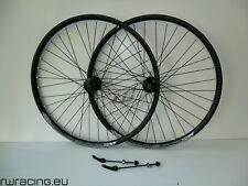 Coppia ruote 27.5 nere opache Quasar per bici / mtb - Matt black 27.5 mtb wheels