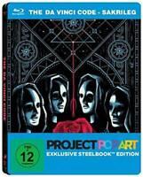 The Da Vinci Code - Sakrileg - Project PopArt - Steelbook - Blu-ray -NEU