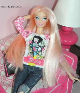 Gorgeous Tokidoki  Barbie Doll~New Model Muse Body~NUDE~2014~Black Label