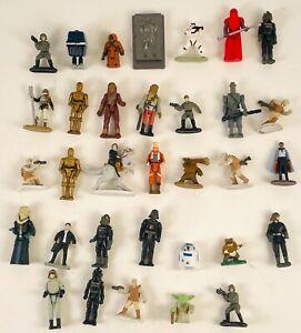 "Vintage Lot Of 30+ Star Wars Micro Machines Action Fleet 1"" Mini Action Figures"