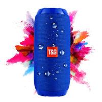 Bluetooth Speaker Wireless Waterproof Outdoor Stereo Bass USB/TF/FM Loudspeaker