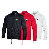 Georgia Bulldogs NCAA Men's Champion Classic Coaches Jacket Collection