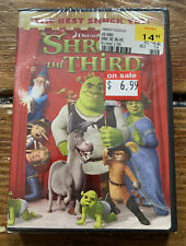 Shrek the Third (Dvd, 2007, Widescreen Version) New - Sealed - Free Shipping !