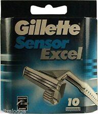 Gillette SENSOR EXCEL  RAZOR BLADES X 10