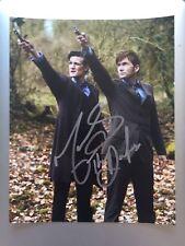Matt Smith David Tennant Doctor Who Signed Photo Autograph