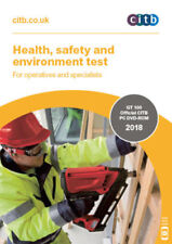 2018 CSCS Card Test DVD  Health Safety and Environment for Operatives  CITB