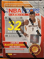 🔥  2019-20 Panini Hoops NBA Premium Stock Blaster Box -Ja Zion Herro Red Box
