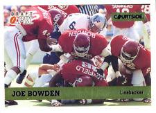 RARE COURTSIDE-GOLD Joe Bowden RC COWBOYS TITANS OILERS Oklahoma SOONERS