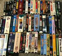 VHS VCR Video Movie Huge Lot 60 Sci Fi Thriller Comedy (Lesser Condition) BB