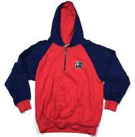 VTG Reebok Shaq Shaquille O'Neal Zip-Up Hoodie Sweatshirt 90s Youth 2 Men's S
