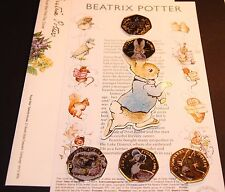 3 sets~Beatrix Potter Peter Rabbit FIRST DAY COVER /ENVELOPE 2016 NEW*(NO COINS)