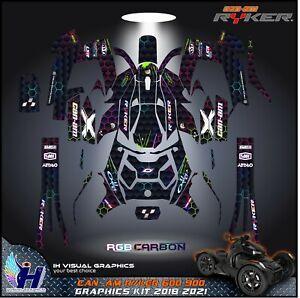 Can Am RYKER 600 900 Graphics kit 2018 2019 2020 2021 stickers decals ATV UTV MX