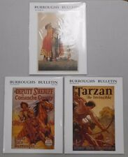 Burroughts Bulletin lot of 3! #'s 46,47 and 48! NM! Spring, Summer, Fall 2001!
