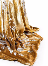 MERMAID SEQUIN / REVERSIBLE SEQUIN THROW GOLD / SILVER BRAND NEW
