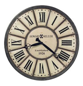 """HOWARD MILLER EXTRA LARGE GALLERY WALL CLOCK 49""""  """"COMPANY TIME""""  625-601"""
