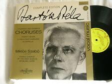 BELA BARTOK Children's & Women's Choruses Miklos Szabo Gyor Hungaroton LP