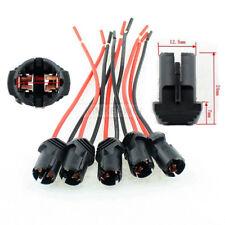 5x W5W T10 Lampen Standlicht Parklicht Fassung Steck Sockel KFZ Mit Kabel 11,5cm