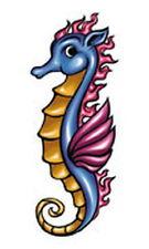 "10 Temporary Tattoos [5140] - Seahorse - 1.5"" x 2.5"""