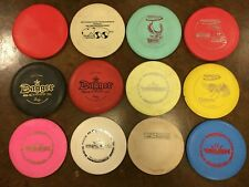 Used Mixed Brands DX Basegrade Plastic Disc Golf LOT of 12 (009)