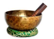 "7"" Hand Hammered Tibetan Meditation Singing Bowl -singing bowl by Thamel Mart"