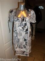 robe tunique été + jupon MC PLANET taille 36 fr 40i NEUVE ÉTIQUETTE
