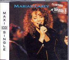 MAXI CD SINGLE 3T MARIAH CAREY I'LL BE THERE UNPLUGGED SINGLE DE 1992