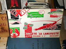 Société La Langouste, Alain Oulhen & Cie, Roscoff.