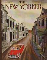 1953 New Yorker Aug 1 - Addams' Haunted Vacation