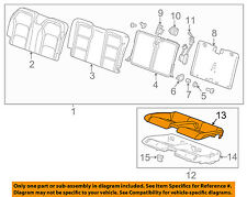 Chevrolet GM OEM 2016 Camaro Rear Seat-Cushion Cover 84080009