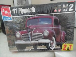 Amt 41 Plymouth plastic model