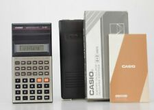 Casio fx-82C Calculatrice ancienne  (Réf#V-562)