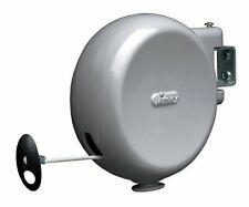 Retractable Reel Washing Line 15M Outdoor Clothes Drying Wall Mounted Pull Out