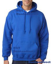 Gildan Heavy Plain Mens & Boys Hoodies Jumper Top Colors Sizes S,M,L,2XL,4XL 5XL