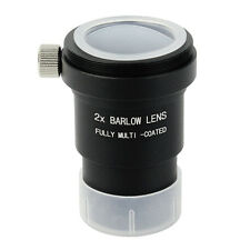 New 1.25'' 2X Barlow Lens Multi-Coated+M42x0.75 Thread Camera Connect Interface