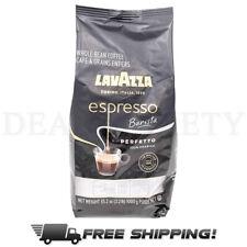 Lavazza Espresso Whole Bean Coffee Perfetto 100% Arabica Medium Roast 2.2LB Bag
