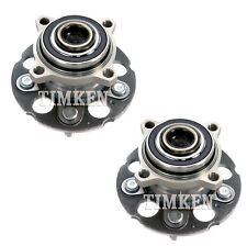 Pair Set of 2 Rear Timken Wheel Bearing & Hub Kit for Honda CR-V Crosstour FWD