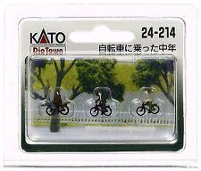 Kato 24-214 N Scale Gauge Diorama personnages À Vélo Bike - train decoration