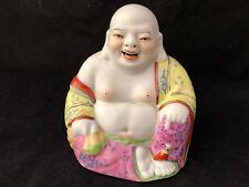 BOUDDHA ANCIEN PORCELAINE CHINOISE ANTIQUE CHINESE PORCELAIN SIGNED BUDDHA